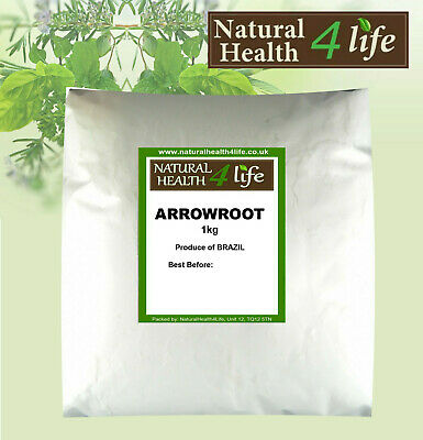 Arrowroot Powder - Grade A+ Premium Quality Different weights to 25kg Free Post