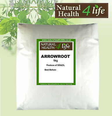 Arrowroot Powder - Grade A+ Premium Quality/GMO Free/Thickener/ weights to 25kg
