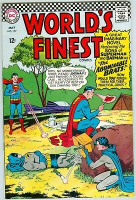 World's Finest #157 May 1966 VG/FN
