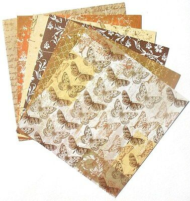 Heritage - 6x6 Forever In Time Scrapbooking Paper Pack