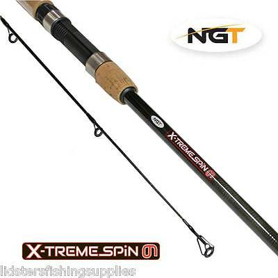 New NGT Xtreme Spin 9ft 2pc 5-25g Carbon Spinning Fishing Rod 2.7m