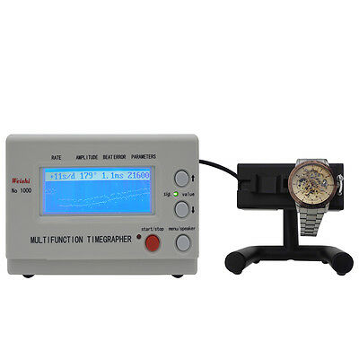 Watch Tester Timing Meter Machine Timegrapher NO.1000/1900/2000/3000/5000