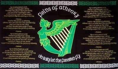 Fields of Athenry Flag - 5 x 3 FT - Irish Republican Ireland Celtic