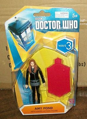 """DOCTOR WHO SERIES WAVE 3 AMY POND 3.75"""" SIZE NEW IN PACKAGE #sjan16-07"""