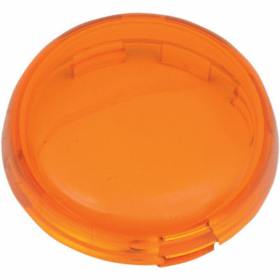 Amber Replacement Turn Signal Lens For Harley-Davidson Bullet Style Indicators
