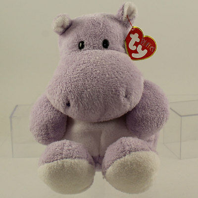 TY Pluffies - WADES the Hippo *NM*