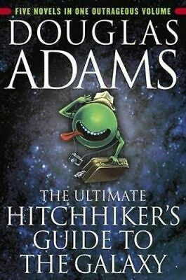 NEW The Ultimate Hitchhiker's Guide to the Galaxy By Douglas Adams Paperback