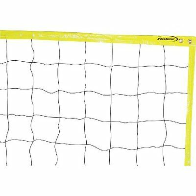 "*NEW* Halex 20823 Official Full Size Volleyball Net - 18 Ply 4"" Mesh Volley Ball"