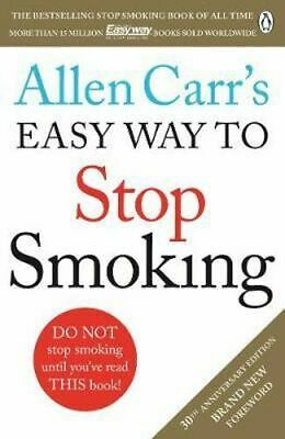 NEW Allen Carr's Easy Way to Stop Smoking By Allen Carr Paperback Free Shipping