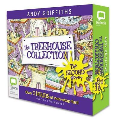 NEW The Treehouse Collection By Andy Griffiths Audio CD Free Shipping