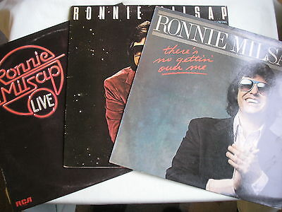 """RONNIE MILSAP **INSTANT RECORD COLLECTION""""* 3 x LP's free UK P&P pack #2"""