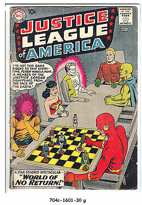 Justice League of America #1 (Oct-Nov 1960, DC) g