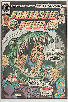 FANTASTIC FOUR #50 french comic français EDITIONS HERITAGE