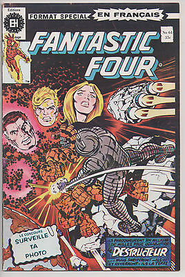 FANTASTIC FOUR #61 french comic français EDITIONS HERITAGE