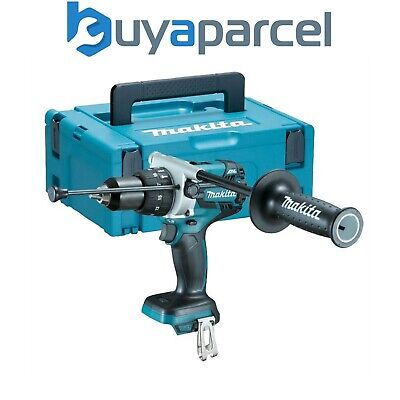 Makita DHP481Z 18v LXT Lithium-Ion Combi Hammer Drill + MakPac Case - Bare Unit
