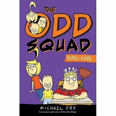 King Karl (Odd Squad) - Hardcover NEW Michael Fry(Aut 2014-06-24