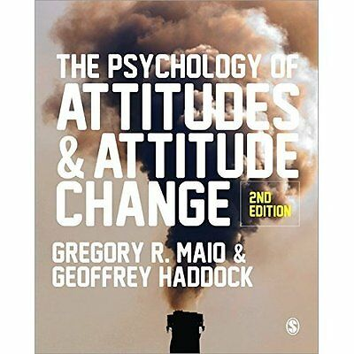 The Psychology of Attitudes and Attitude Change - Paperback NEW Gregory R. Maio