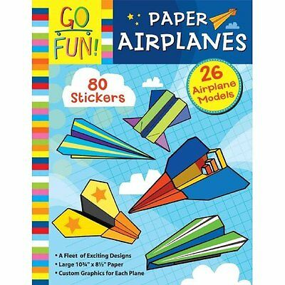 Go Fun! Paper Airplanes - Paperback NEW Accord Publishi 2014-07-03