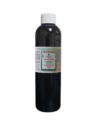 8 Oz 100 % Hemp Seed Oil Pure Unrefined Cold Pressed Pharmaceutical Virgin