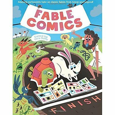 Fable Comics - Hardcover NEW Chris Duffy (Au 2015-09-13