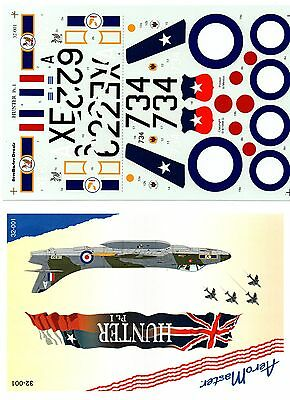 AEROMASTER 32-001 - DECALS 1/32 - HUNTER Pt.I