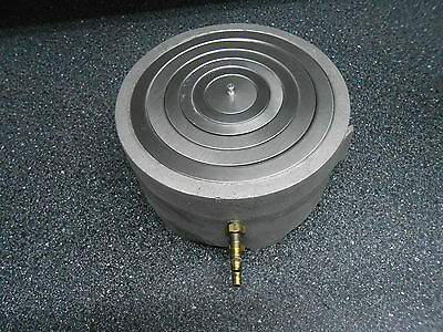 """6"""" Concentric Ring Water Bath Aluminum With Stainless Rings"""