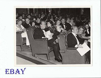 Jeanette MacDonald Gene Raymond VINTAGE Photo Young Mr. Lincoln Premiere 1939