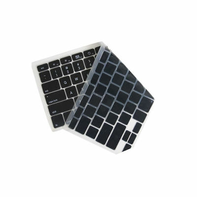 New Black Silicone Keyboard Cover Skin for Apple Macbook Pro 13 15 17 Air Retina