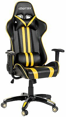 Merax Executive Racing Gaming Chair High Back PU Leather Race Car Seat Chair