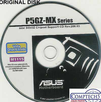 Asus p5gz-mx series motherboard auto install drivers m959 | ebay.