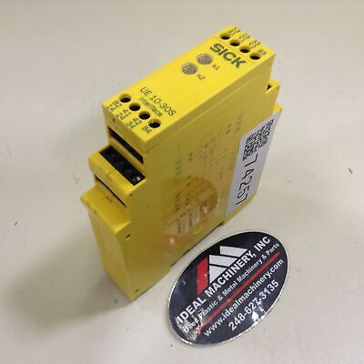 Sick Safety Relay UE 10-30S2D0 Used #74257