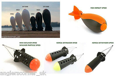 Fox Impact Spod / Spomb / Korda Spods / Carp Fishing / Spodding