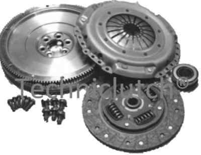 Vw Transporter 1.9Tdi 2003-2009 Solid Flywheel And Clutch Kit