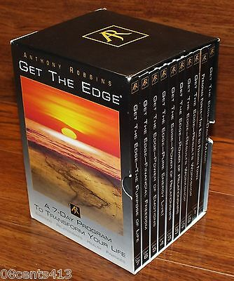 Get the Edge (10-Disc DVD Set) 7 Day Program to Transform Your Life By Anthony R