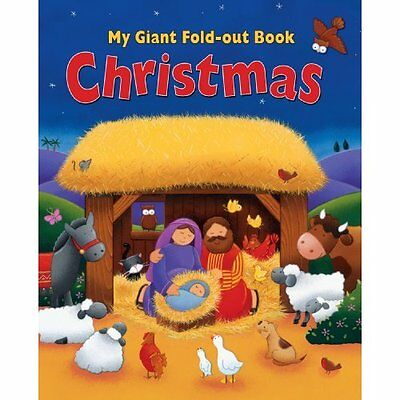 My Giant Fold-Out Book Christmas - Hardcover NEW Tracy Harrast ( 2014-09-05