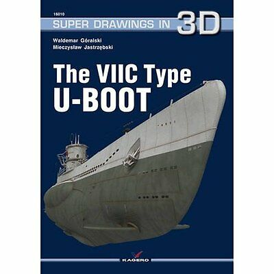 The VIIC Type U-Boot (Super Drawings in 3d) - Paperback NEW Mieczys aw Jast 2011
