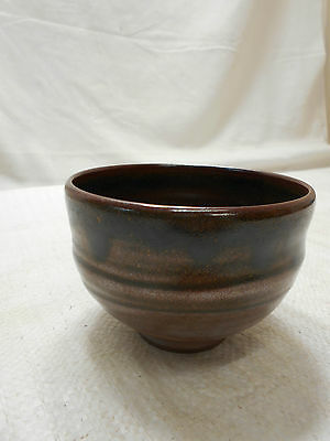 Japanese Tea Ceremony Pottery Bowl Chanoyu Traditional Vintage #81