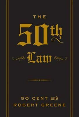 NEW The 50th Law By Robert Greene Paperback Free Shipping