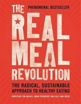 NEW The Real Meal Revolution By Professor Tim Noakes Paperback Free Shipping