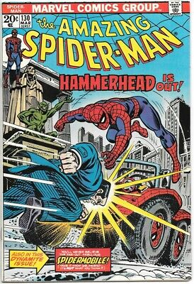 the Amazing Spider-Man Comic Book #130, Marvel Comics 1974 NEAR MINT