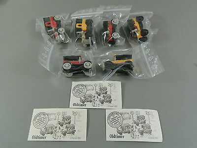 Coches: Antiguo 1990 - Set Completo + 3 Var Todas Folleto Explicativo
