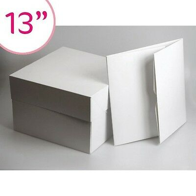 "13"" 13 inch CAKE BOX BOXES - PACK OF 5 - FAST DISPATCH"