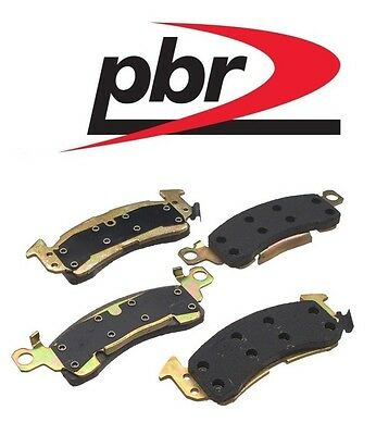 PBR Front Brake Pad 2-wheel For Chevy Buick Commercial Chassis 96 95 94
