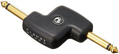 """D/'Addario 1//4/"""" Male Mono Inline Adapter Patch Cable Coupler PW-P047A"""