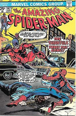 the Amazing Spider-Man Comic Book #147, Marvel Comics 1975 VERY FINE+