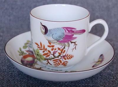"""Lovely Mottahedeh """"chelsea Birds"""" Cup And Saucer Pattern #1"""