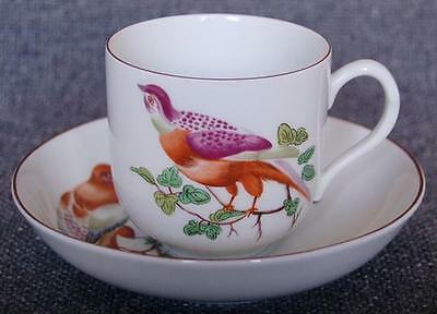 """Lovely Mottahedeh """"chelsea Birds"""" Cup And Saucer Pattern #3"""