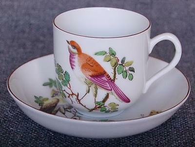 """Lovely Mottahedeh """"chelsea Birds"""" Cup And Saucer Pattern #4"""