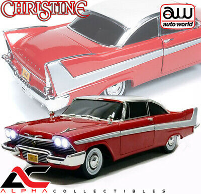 Autoworld Awss102 1:18 1958 Plymouth Fury Christine Nighttime Version W/ Lights