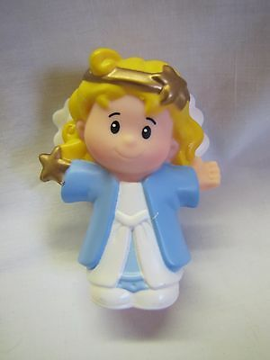 NEW Fisher Price Little People CHRISTMAS NATIVITY ANGEL GOLD HALO for SHEPHERD